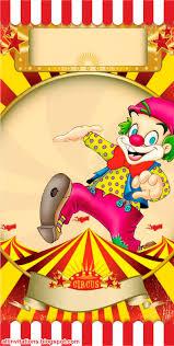 tarjetas de thanksgiving gratis plantilla ticketmaster circo con payaso invitaciones
