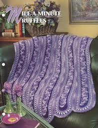 mile a minute ruffles annie u0027s crochet quilt u0026 afghan
