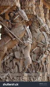 God Statue Hindu God Statue Sri Ranganathaswamy Temple Stock Photo 71860627