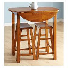 Kitchen Side Table by 3 Pc Pub Table Set Chestnut Finish 236580 Kitchen U0026 Dining