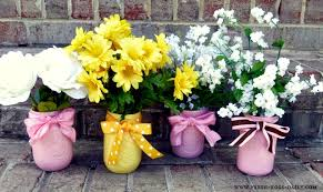 Mason Jar Vases Painted Mason Jar Flower Vases Fresh Eggs Daily