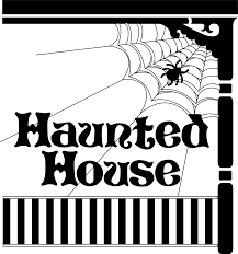 halloween house clipart haunted house free stock photo illustration of a spider and