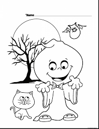 surprising halloween ghost coloring pages to print with ghost