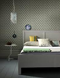 Gray Wallpaper Bedroom - wallpaper classic u2013 original and yet unobtrusive interior design