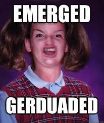 Emerged Meme - ermahgerd hermberkers berd lerk berks quickmeme