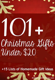 ultimate list of inexpensive gift ideas 101 gift ideas for under