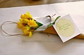 serendipity refined blog spring paper flower cone door decor