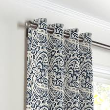 Pier One Paisley Curtains by Grommet Drapery Grommet Curtains Linens And Contemporary