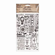 tim holtz idea ology remnant rubs elements