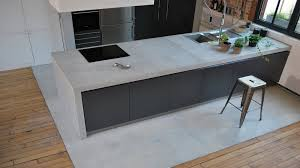 plan de travail cuisine en béton ciré impressionnant beton cire sur carrelage plan de travail cuisine 4