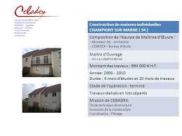 bureau d ude ouvrage d construction d un immeuble de 15 logements alfortville 94 ppt