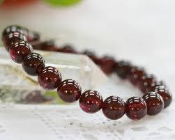 garnet gemstone bracelet images Koufukunoisi rakuten global market garnet garnet bracelet jpg
