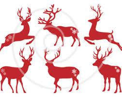 christmas deer christmas deer etsy
