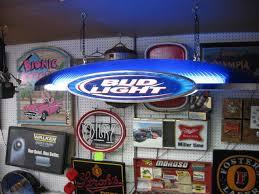 Bud Light Beer Spaceship Pool Table Light Nex Tech Classifieds
