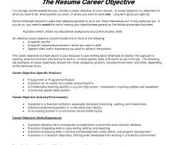 resume exles objective general purpose financial reports how to write objective in resume professional for job exles pics