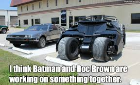 Doc Brown Meme - batman and doc brown weknowmemes