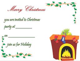 christmas party invitation template free u0026 printable