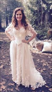 Wedding Dress Cast Rebecca Mader On Wedding Dress Ouat And Weddings