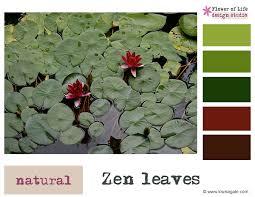 zen color palette color story zen leaves color palette louise gale mixed media