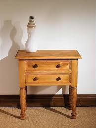 antique pine dressing table painted in autentico linen distressed