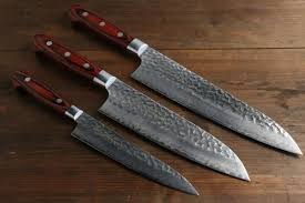 kitchen knives japanese sakai takayuki 33 layer gyuto santoku and petty japanese kitchen