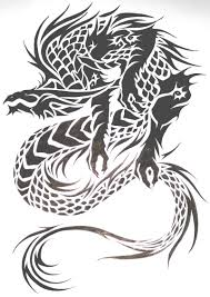 tribal dragon tattoo design for men 2 tattoos book 65 000