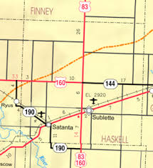 haskell map haskell county kansas
