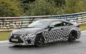 lexus rc heavy mysterious lexus rc f spied is it a new performance variant