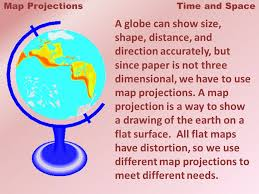what is a map projection map projections and space when you try to flatten a tennis