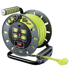 150 ft 16 3 cord storage reel with stand hd 100pdq the home depot