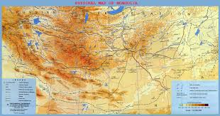 Geographical Map Of South America Maps Of Mongolia Detailed Map Of Mongolia In English Tourist
