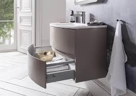 bauhaus adds mocha hue to svelte bathroom range inside id