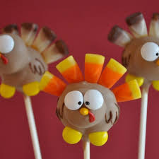 133 best thanksgiving cake pops balls images on