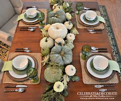 thanksgiving tablescapes pictures thanksgiving table in green u0026 white celebrate u0026 decorate