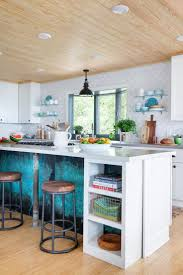 2594 best kitchen remodel images on pinterest chevron floor at diy network s blog cabin 2016 the open and expansive kitchen illuminated by a