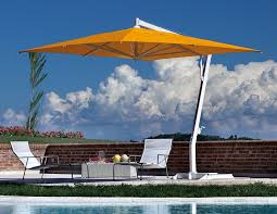Cantilever Patio Umbrella Outdoor Garden Best Orange Patio Cantilever Umbrella For Modern