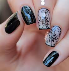 40 black nail art ideas fashion hippoo