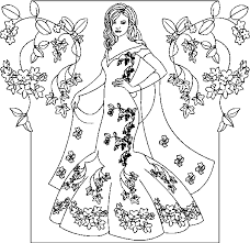 Princess Coloring Pages Lezardufeu Com Princess Coloring Pages