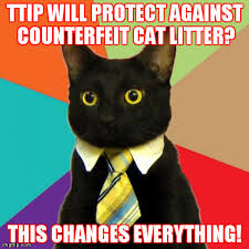 This Changes Everything Meme - business cat meme imgflip