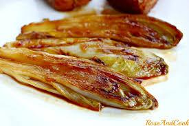 cuisiner endives cuites endives caramélisées à l orange recette cook