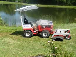 Lawn Tractor Canopy by Anyone Have One Of Those Buggy Type Sun Shades Canopies For