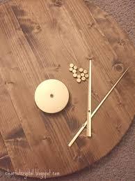 Minimalistic Wall Clock by Clear Cut Crystal Designs Diy Mid Century Minimalist Wall Clock