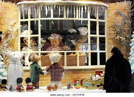 Christmas Decorations Shop Covent Garden by Festive Christmas House Window Display Stock Photos U0026 Festive