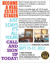 chicago il home staging course home stager training certified