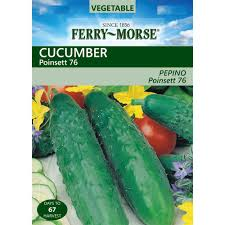 ferry morse cucumber poinsett 76 seed 1278 the home depot