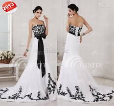 black and white wedding dresses black and white wedding dresses for sale wedding corners