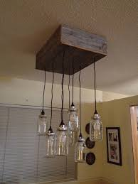 Light Bulb Chandelier Diy Indoor Project Mason Jar Chandelier Sprouting Off