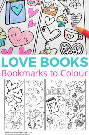 love books free colouring bookmarks mum in the madhouse