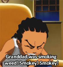 Boondocks Meme - animated gif about funny in gifs by waffles on we heart it