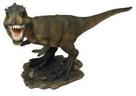 arts real range t rex dinosaur garden ornament for